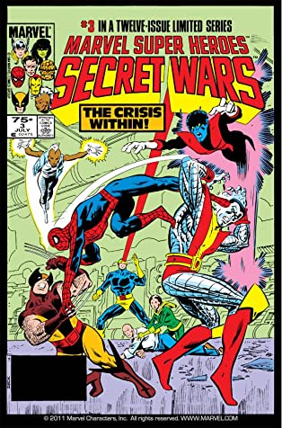Marvel Super Heroes Secret Wars (1984-1985) #3