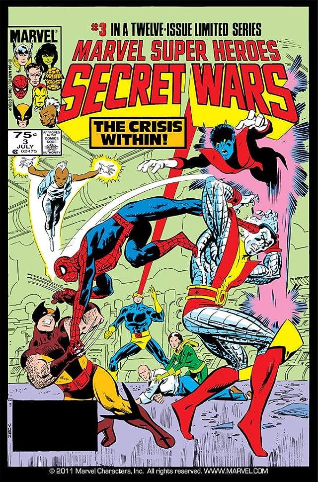 Secret Wars (1984-1985) #3