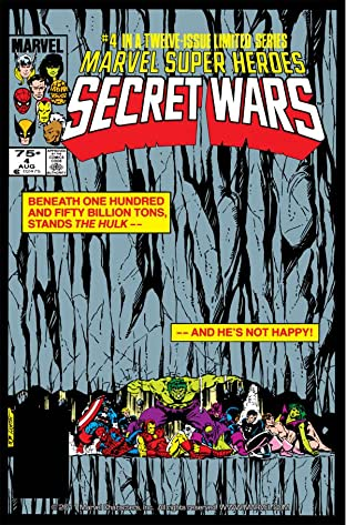 Marvel Super Heroes Secret Wars (1984-1985) #4
