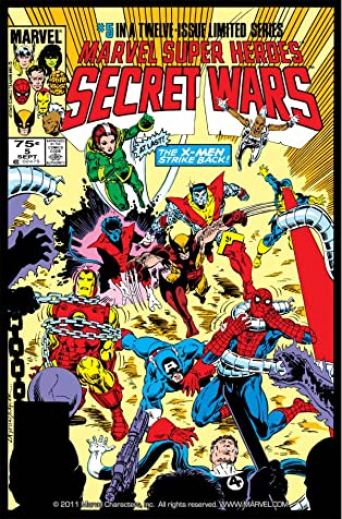 Marvel Super Heroes Secret Wars (1984-1985) #5