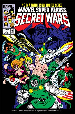 Marvel Super Heroes Secret Wars (1984-1985) #6