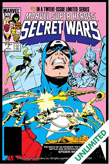 Marvel Super Heroes Secret Wars (1984-1985) #7