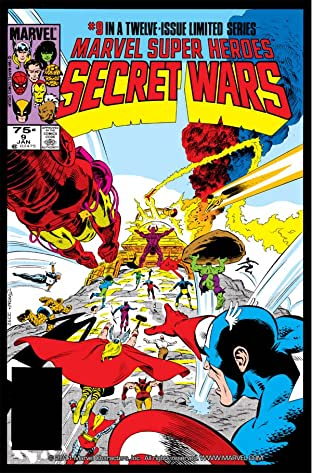 Marvel Super Heroes Secret Wars (1984-1985) #9