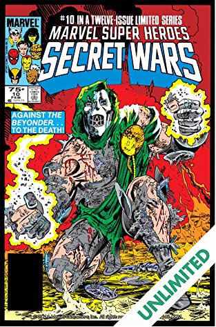 Marvel Super Heroes Secret Wars (1984-1985) #10