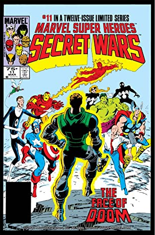 Marvel Super Heroes Secret Wars (1984-1985) #11