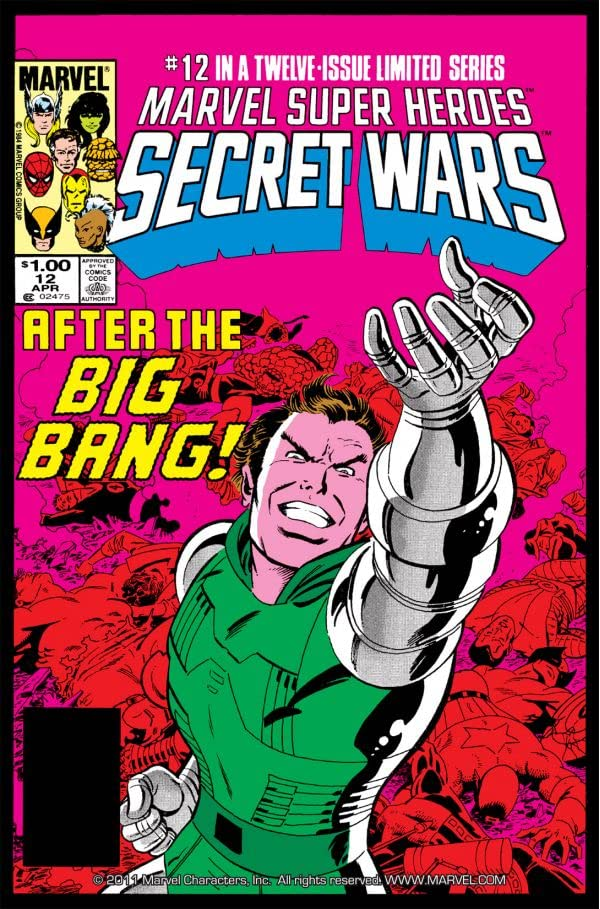 Marvel Super Heroes Secret Wars (1984-1985) #12