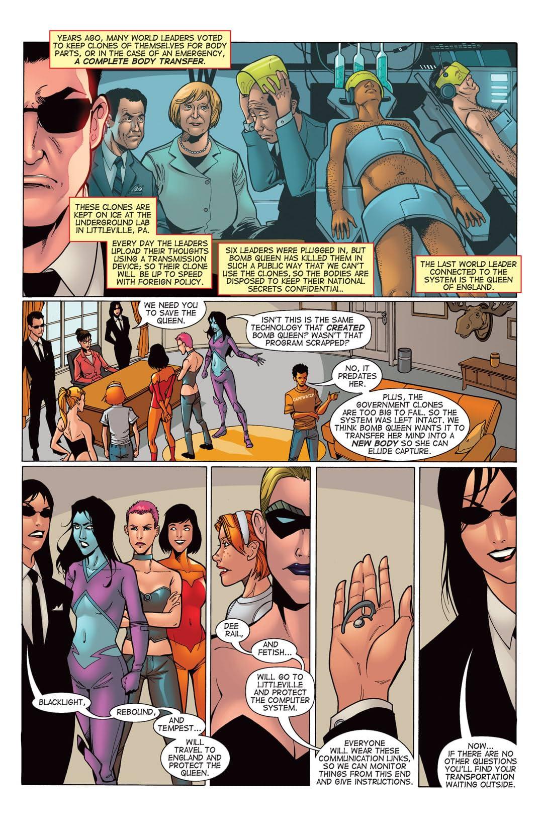 Bomb Queen Presents: All Girl Comics #1: Special