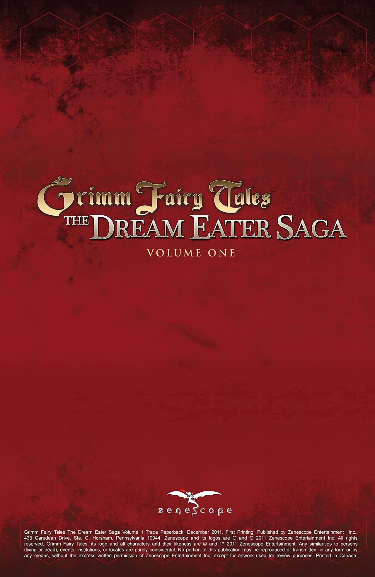 Dream Eater Saga Vol. 1