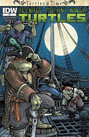 Teenage Mutant Ninja Turtles: Turtles in Time #3 (of 4)