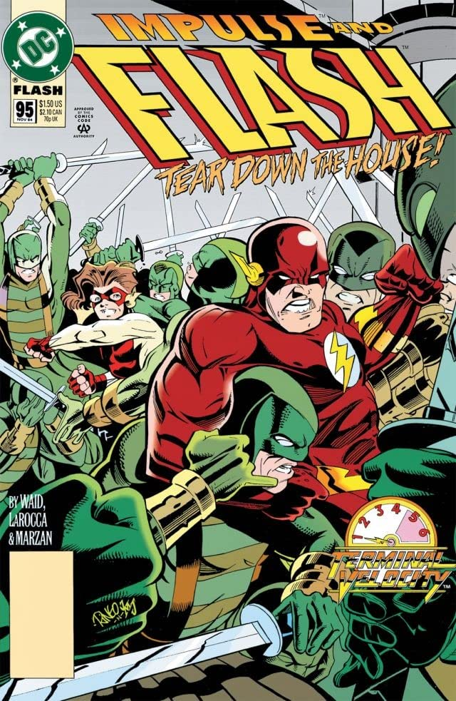 The Flash (1987-2009) #95
