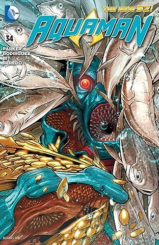Aquaman (2011-2016) No.34