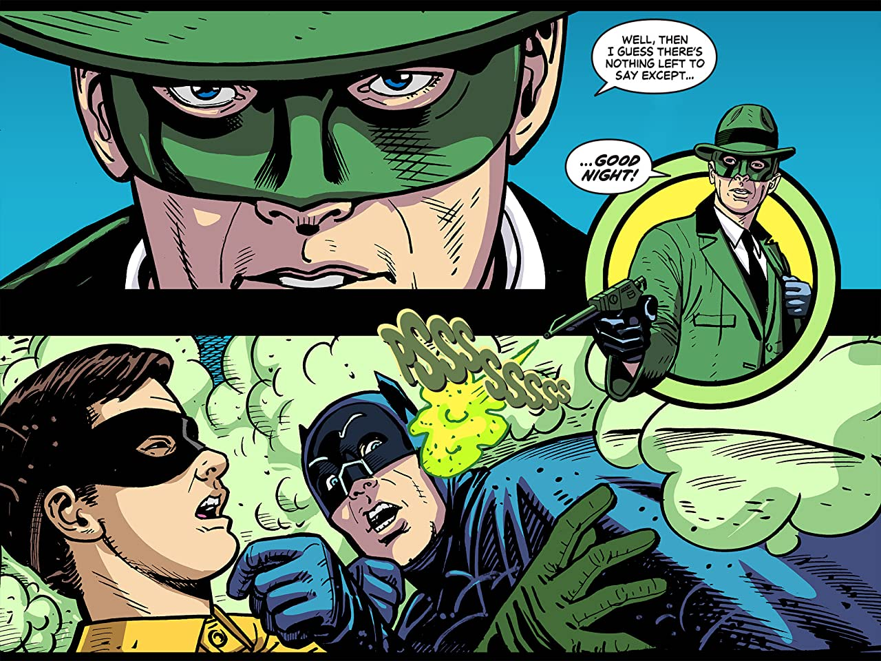 Batman '66 Meets The Green Hornet #8