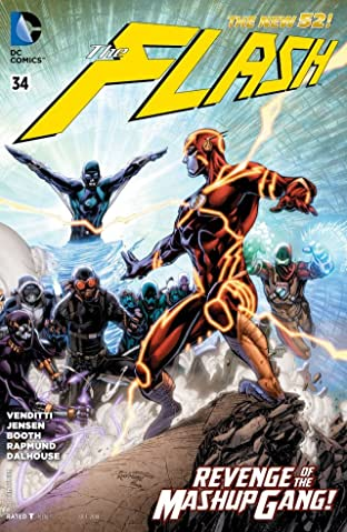 The Flash (2011-2016) #34