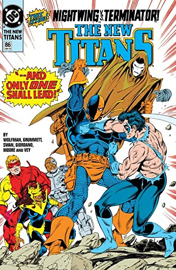 The New Titans (1984-1996) #86