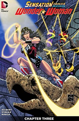 Sensation Comics Featuring Wonder Woman (2014-2015) #3