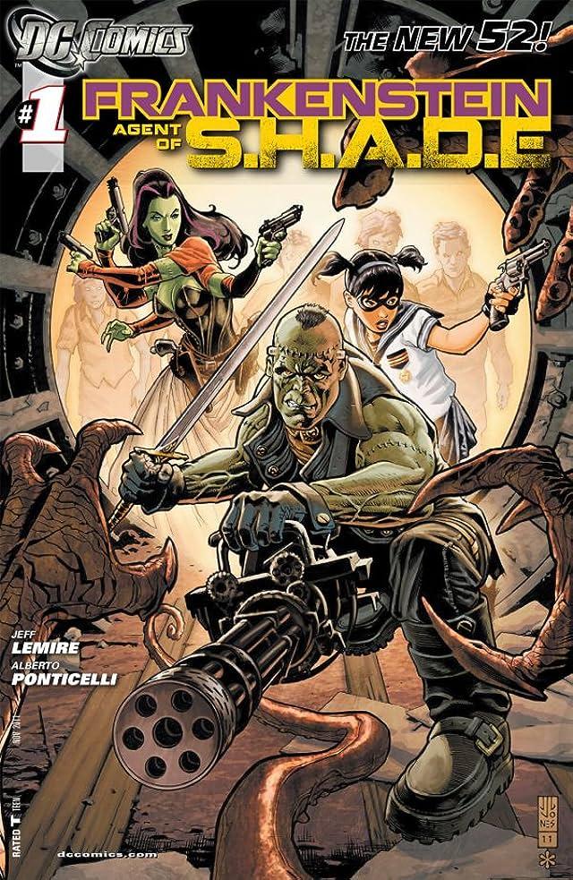 Frankenstein, Agent of SHADE (2011-2013) #1