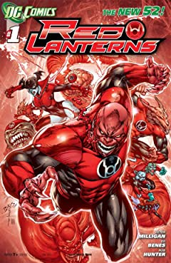 Red Lanterns (2011-2015) No.1