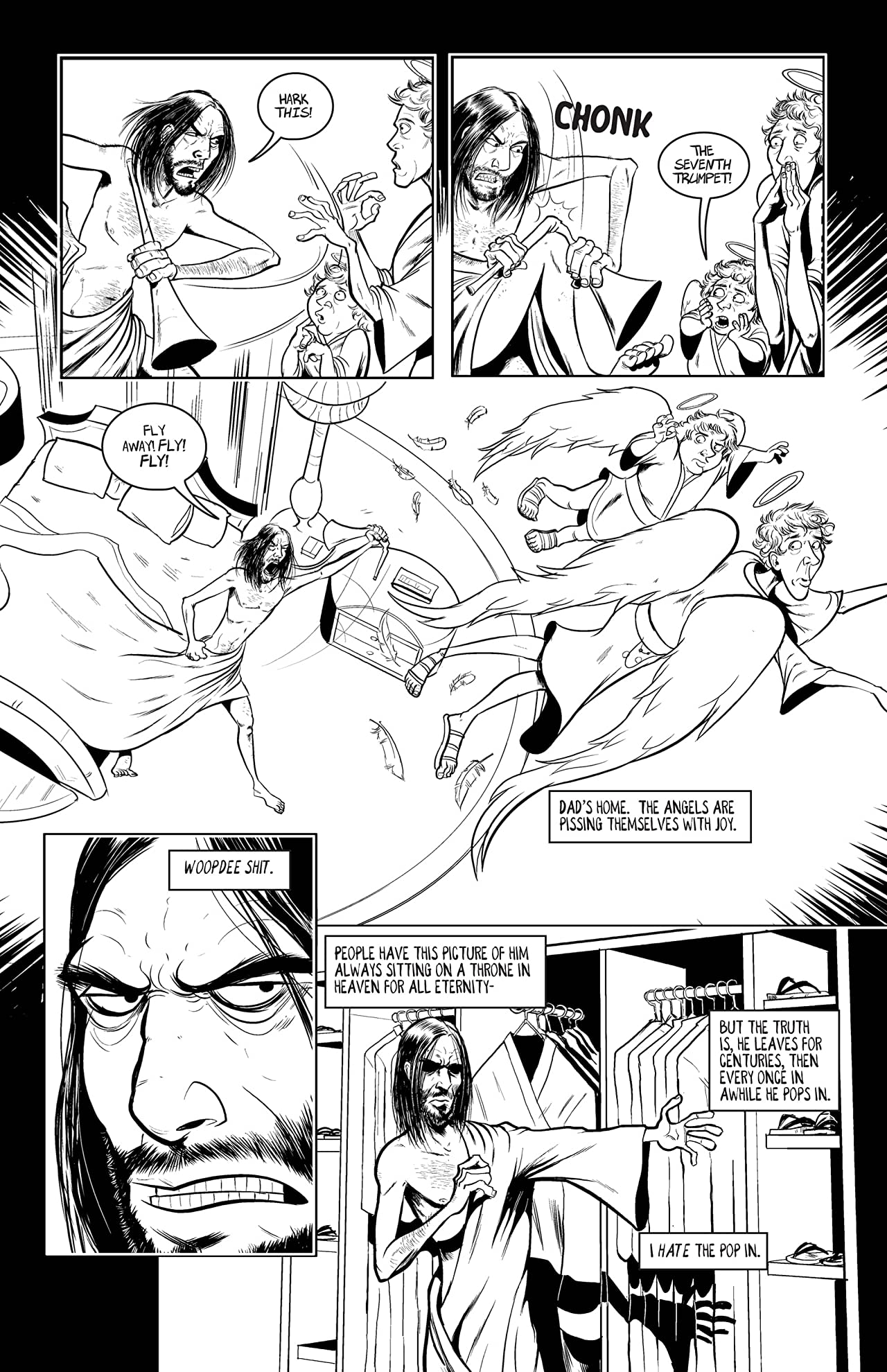 Jesus Christ: In the Name of the Gun Vol. 1: A Hollow Cost