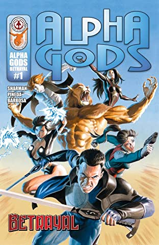 Alpha Gods #1: Betrayal: Preview