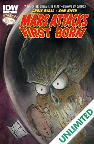 Mars Attacks: First Born #4 (of 4)