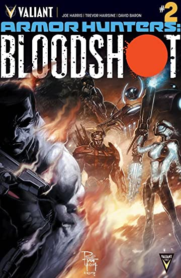 Armor Hunters: Bloodshot (2014) #2 (of 3): Digital Exclusives Edition