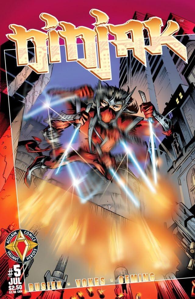 Ninjak (1997) #5