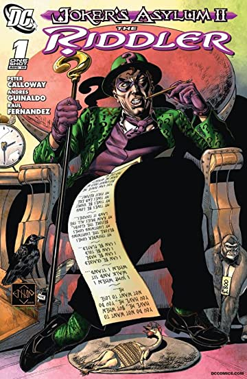 Joker's Asylum (2008-2010): The Riddler