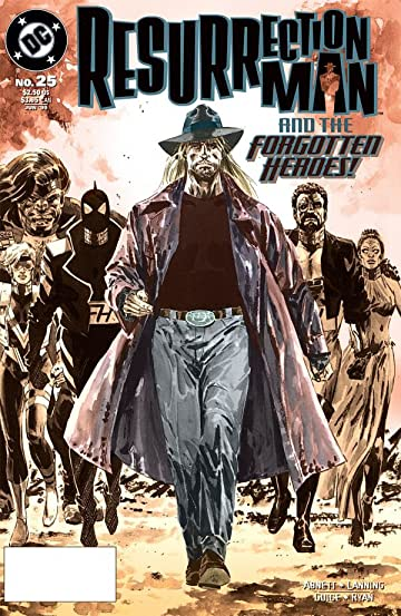Resurrection Man (1997-1999) #25