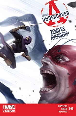 Avengers Undercover No.9