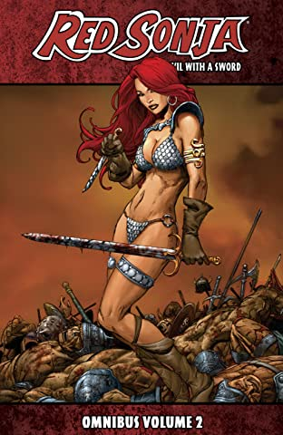 Red Sonja She-Devil With A Sword Omnibus Tome 2