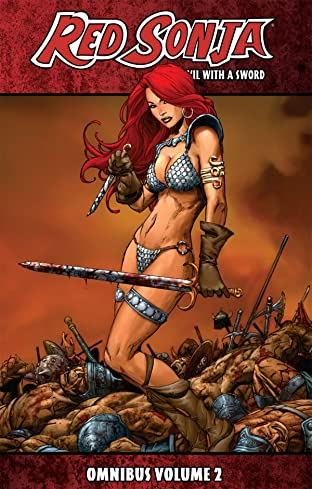 Red Sonja She-Devil With A Sword Omnibus Vol. 2