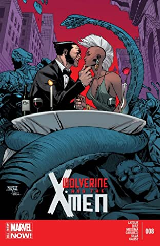 Wolverine and the X-Men (2014-) #8