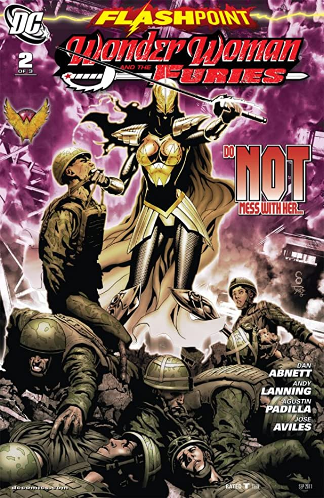 Flashpoint: Wonder Woman and the Furies #2