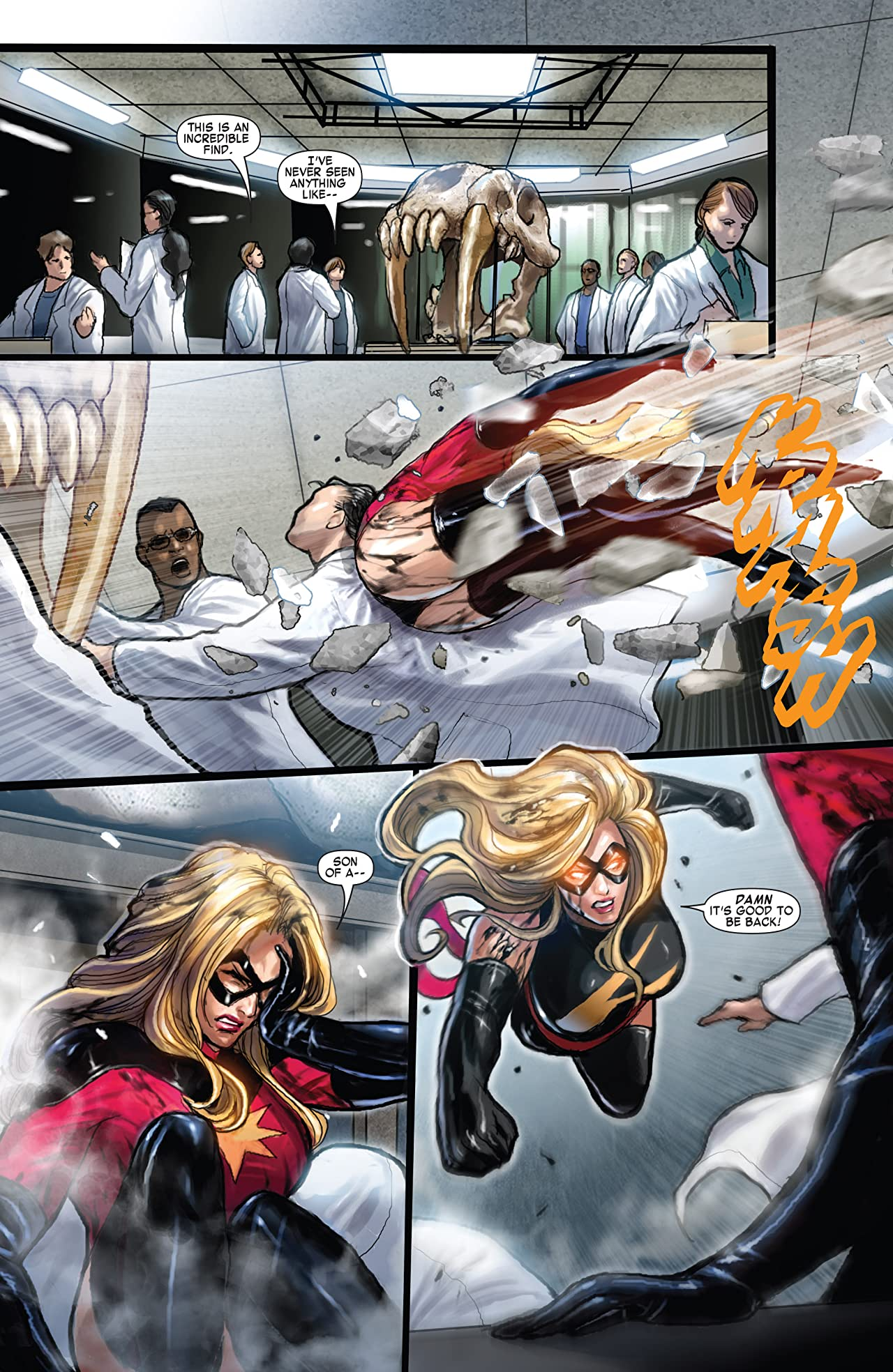 Ms. Marvel Tome 8: War of the Marvels