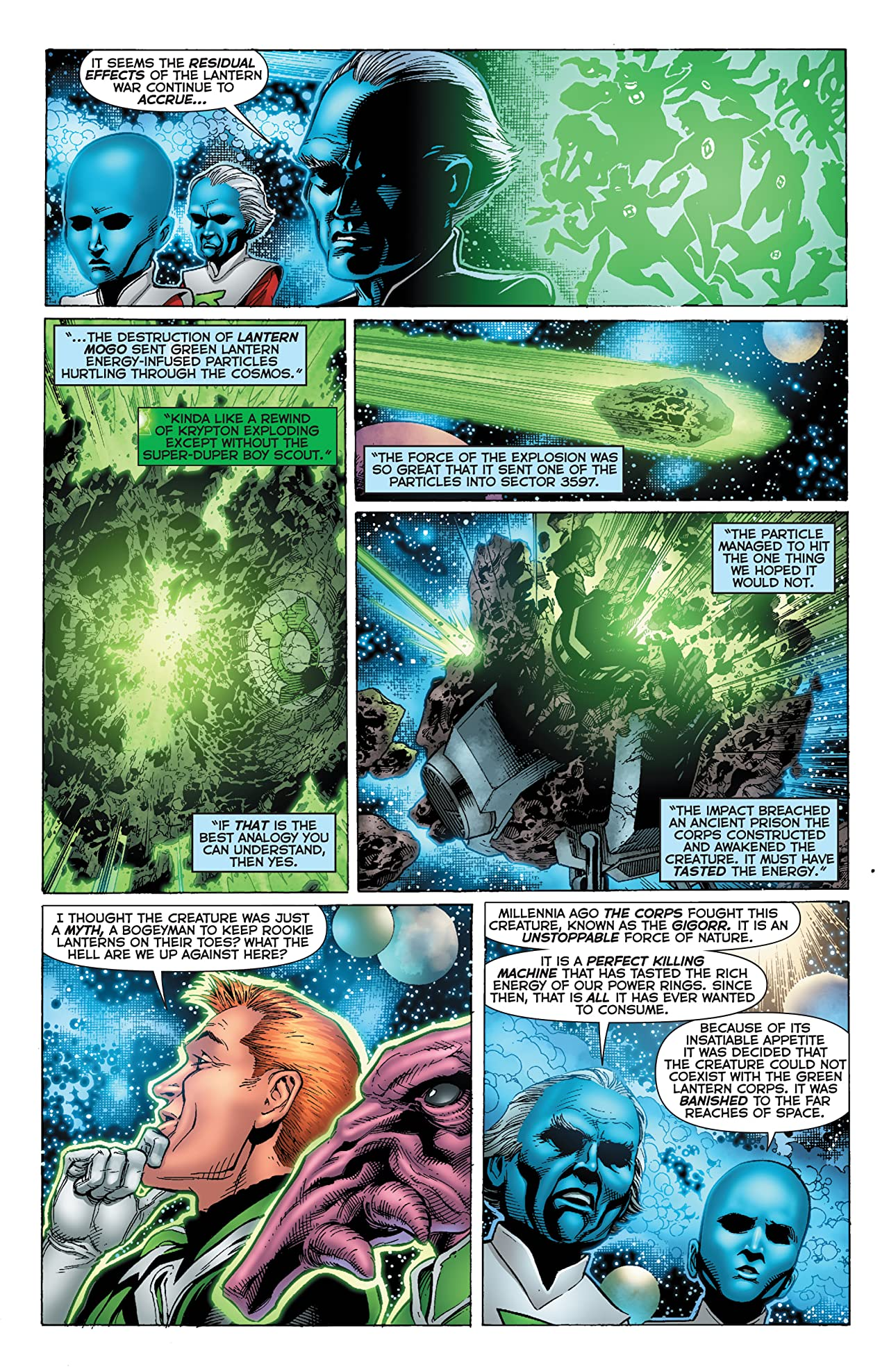Green Lantern: Emerald Warriors #12