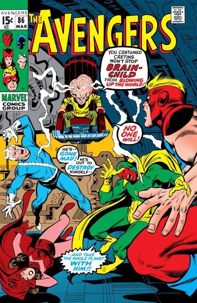 Avengers (1963-1996) #86