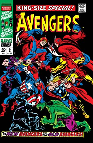 Avengers (1963-1996) Annual #2