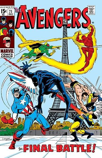 Avengers (1963-1996) #71