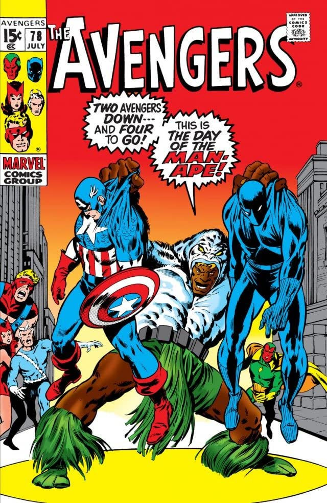 Avengers (1963-1996) #78