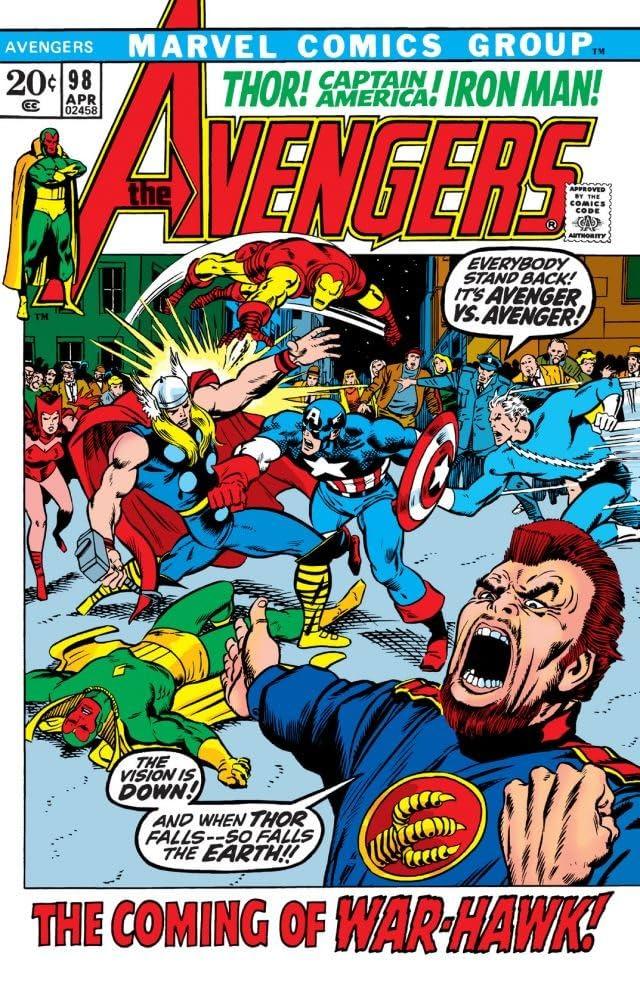 Avengers (1963-1996) #98