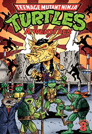 Teenage Mutant Ninja Turtles: Adventures Tome 8