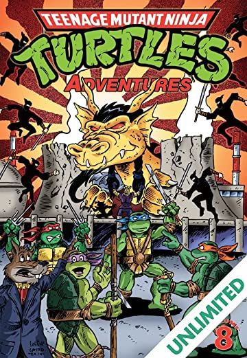 Teenage Mutant Ninja Turtles: Adventures Vol. 8