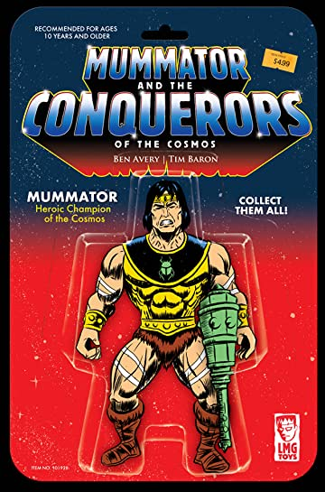 Mummator and the Conquerors of the Cosmos #1