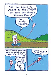 Johnny Boo Book 6: Zooms To the Moon