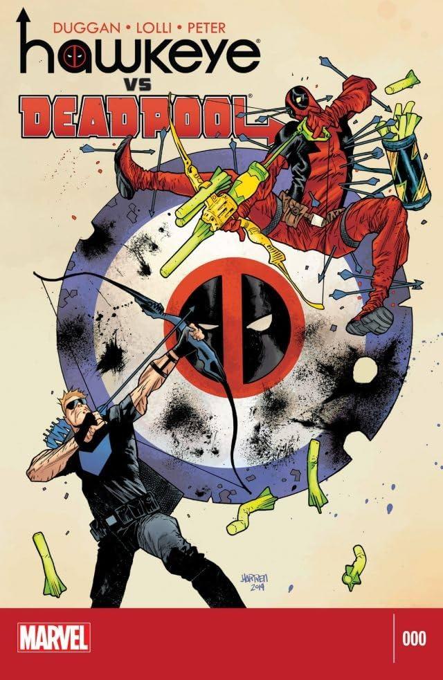 Hawkeye vs. Deadpool #0 (of 4)
