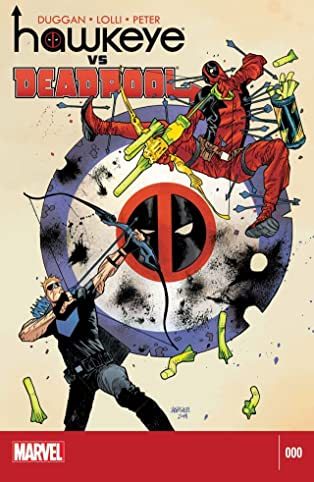 Hawkeye vs. Deadpool #0 (of 4)