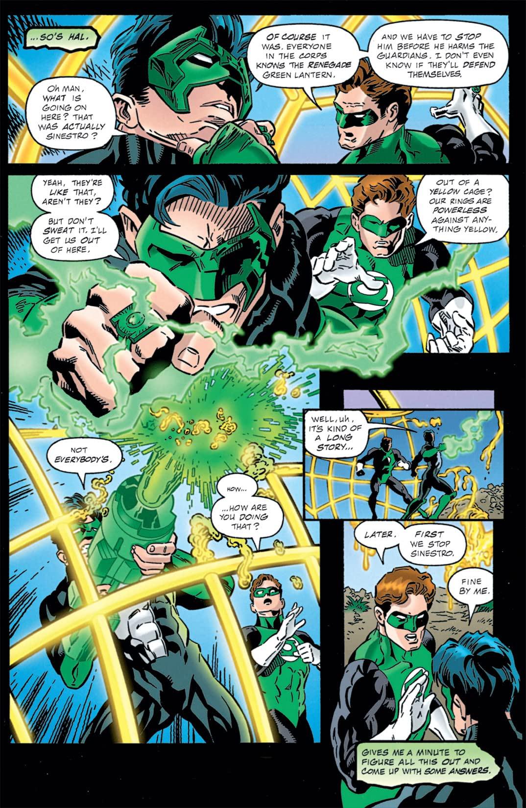 Green Lantern (1990-2004) #100