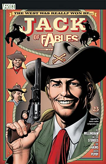 Jack of Fables #23