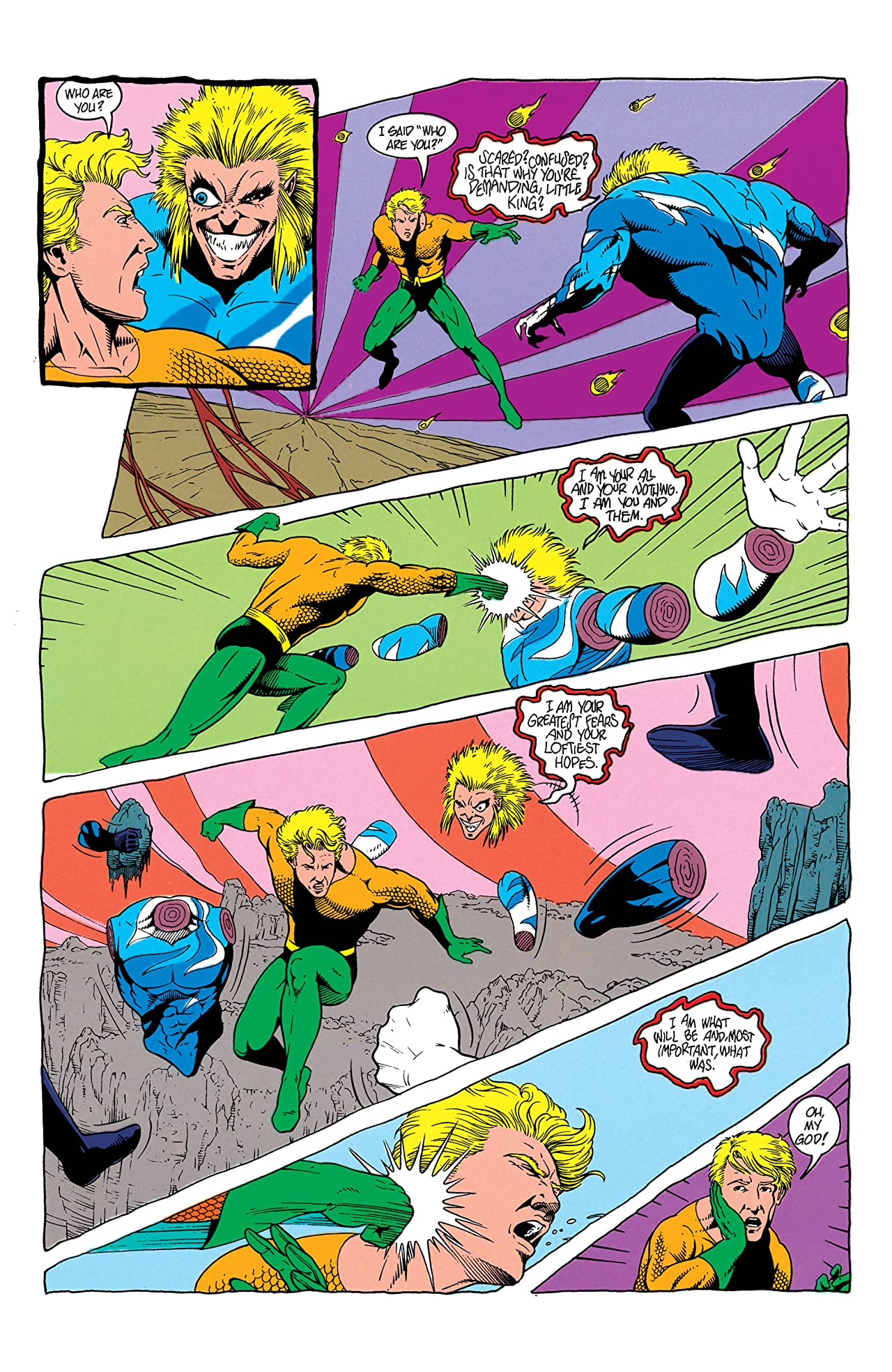 Aquaman (1991-1992) #7