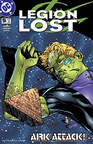 Legion Lost (2000-2001) No.5 (sur 12)
